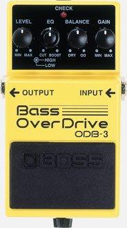 Педаль эффектов Boss ODB-3 фото