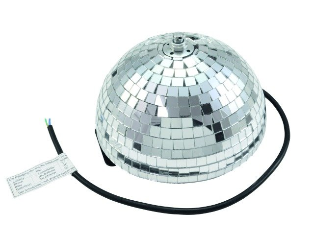 Зеркальная полусфера Eurolite Half mirror ball 20/30/40 cm with safety motor [50101950] фото